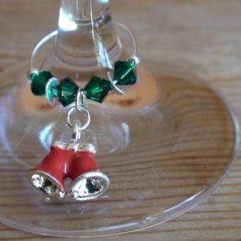 Weinglasring Glocken