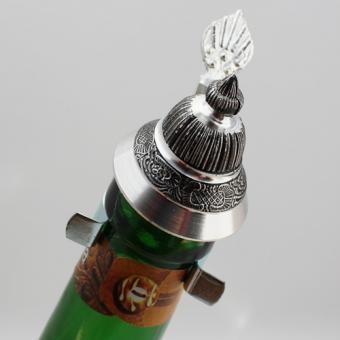 Zinndeckel für Flaschen