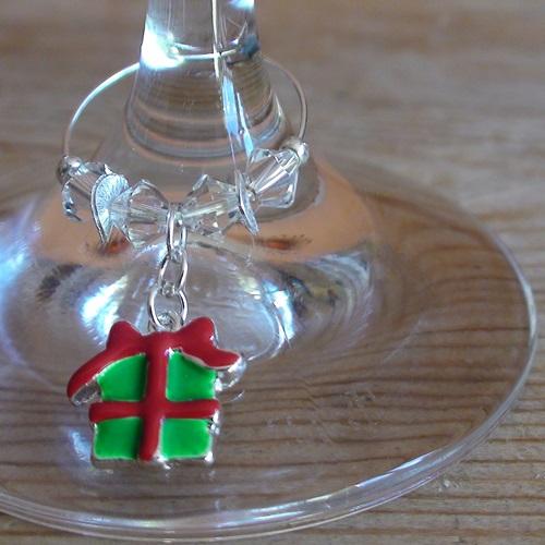 Weinglasring Geschenk
