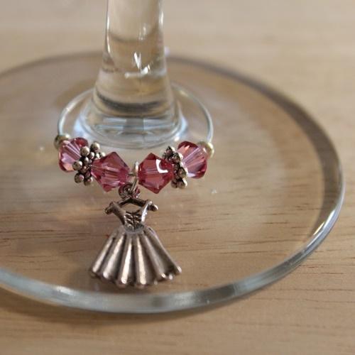 Weinglasring Dirndl