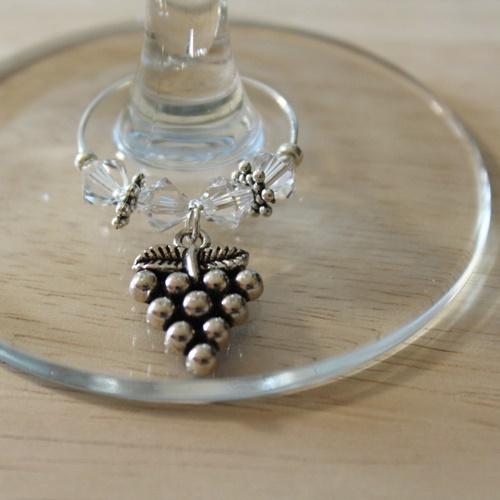 Weinglasring Traube